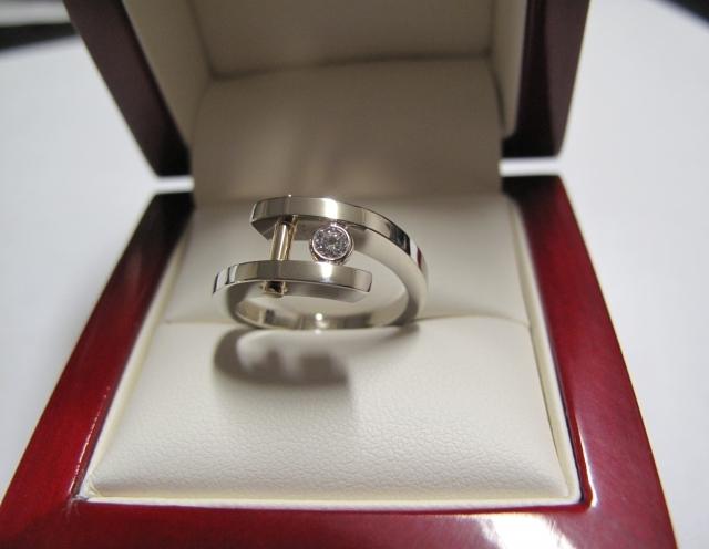 Sužadėtuvių žiedas dizainas 37