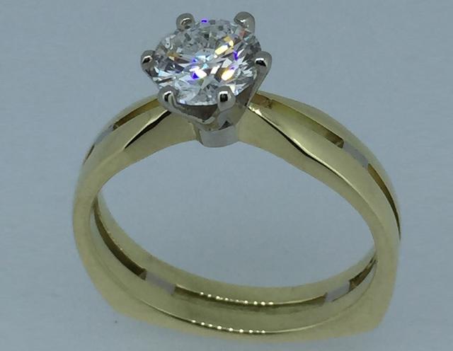 Sužadėtuvių žiedas dizainas 5-4