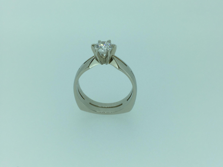 Sužadėtuvių žiedas dizainas 21-1