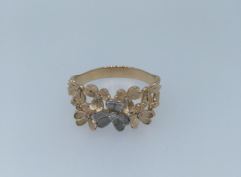 Sužadėtuvių žiedas dizainas 45
