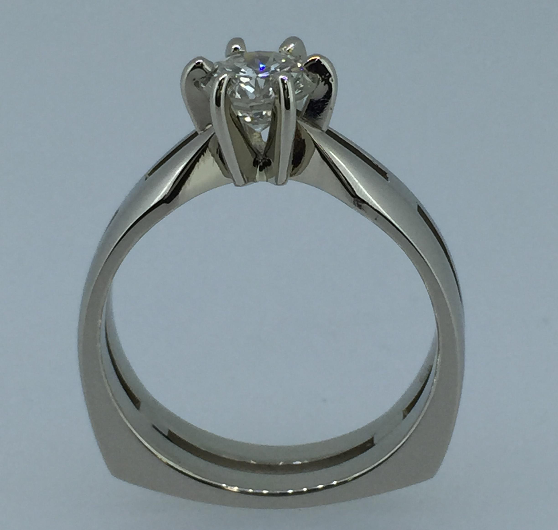 Sužadėtuvių žiedas dizainas 21