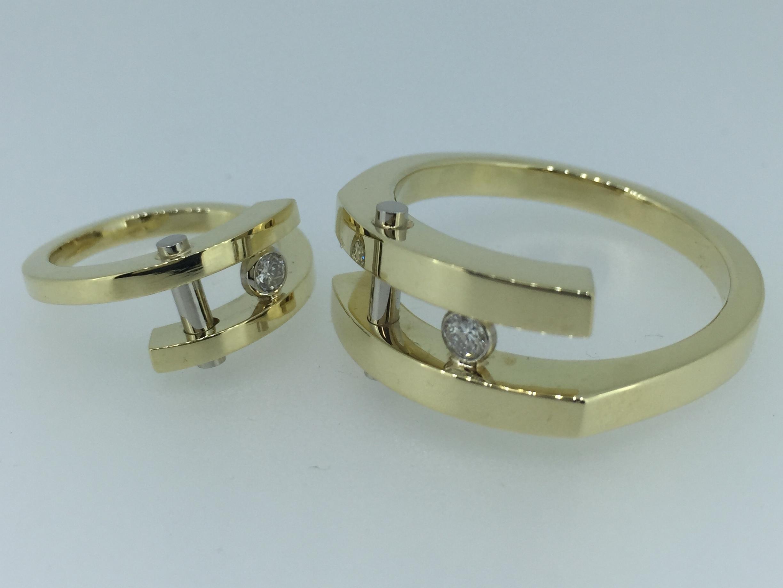 Vestuviniai žiedai dizainas 111
