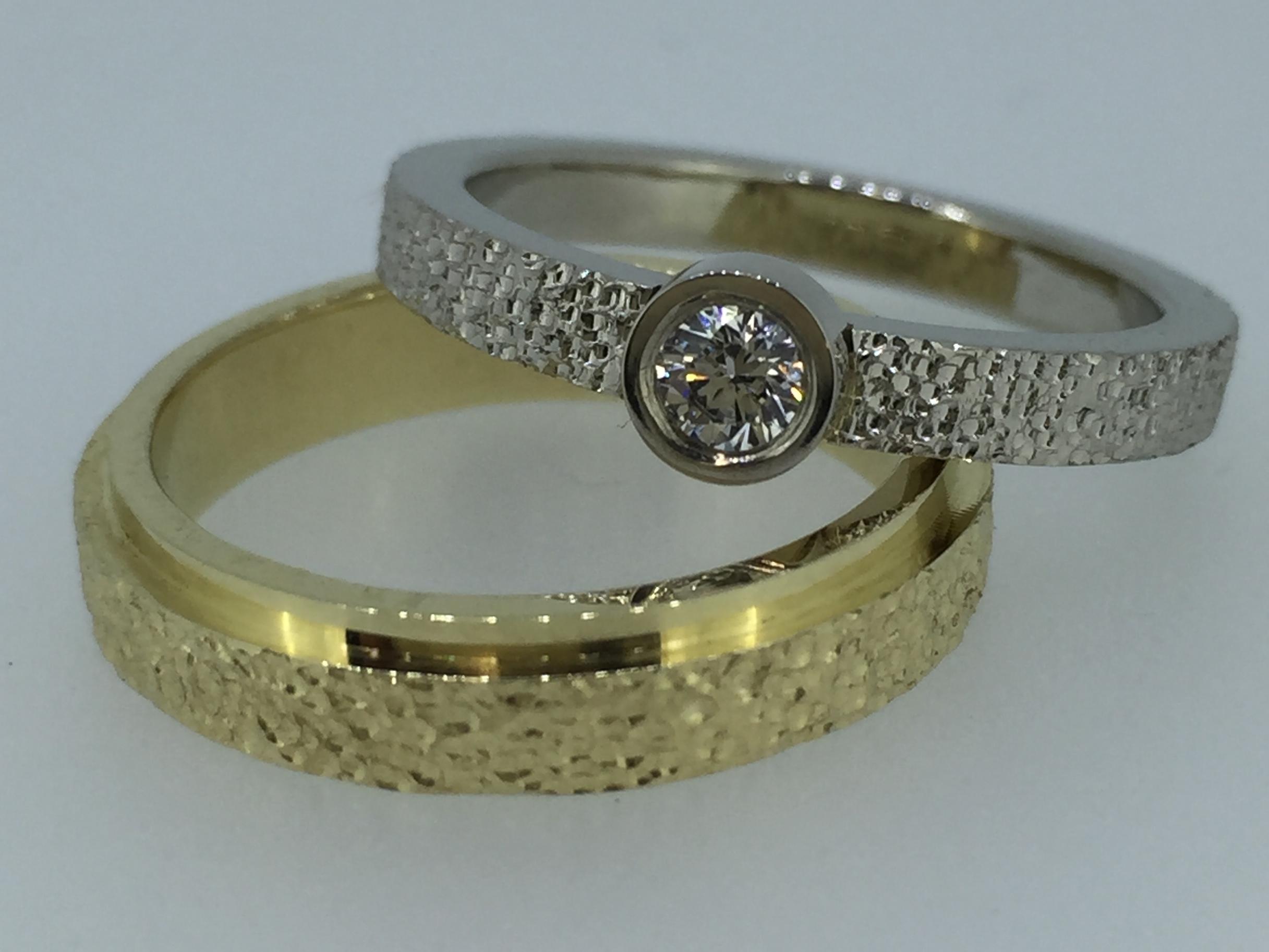 Vestuviniai žiedai dizainas 119