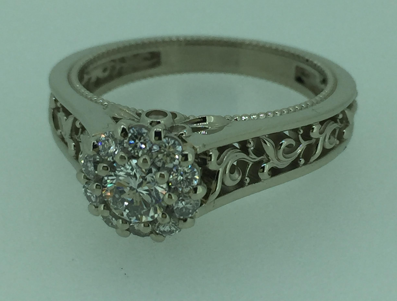 Sužadėtuvių žiedas dizainas 9