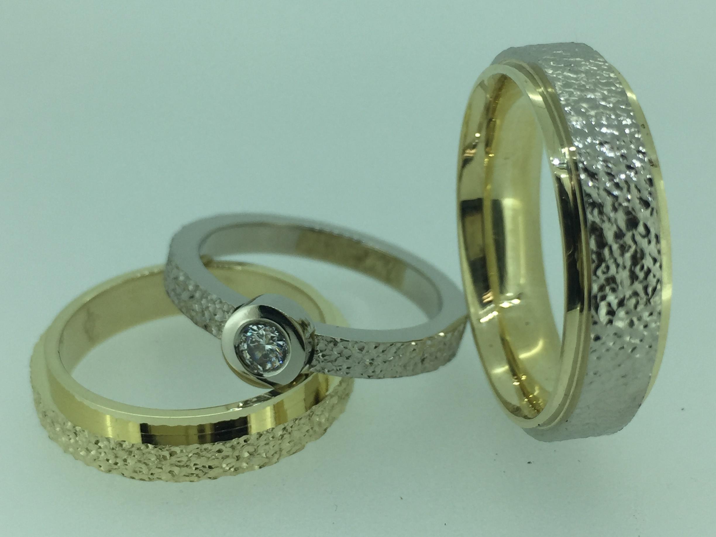 Vestuviniai žiedai dizainas 124