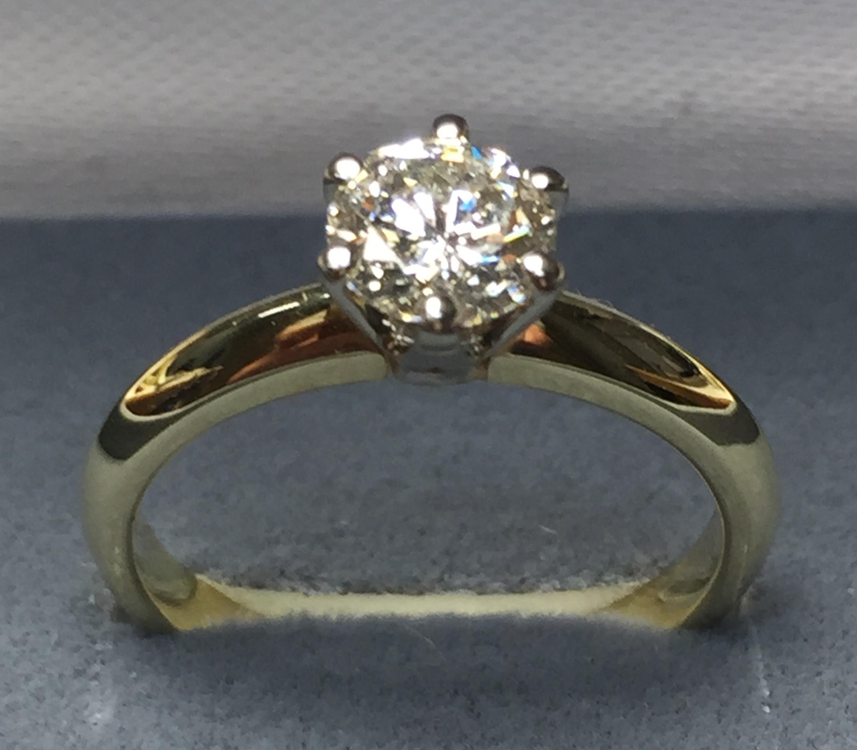 Sužadėtuvių žiedas dizainas 7