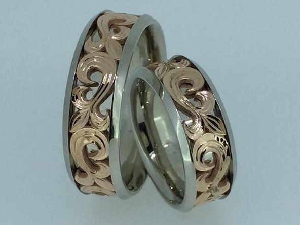 Vestuviniai žiedai dizainas 128
