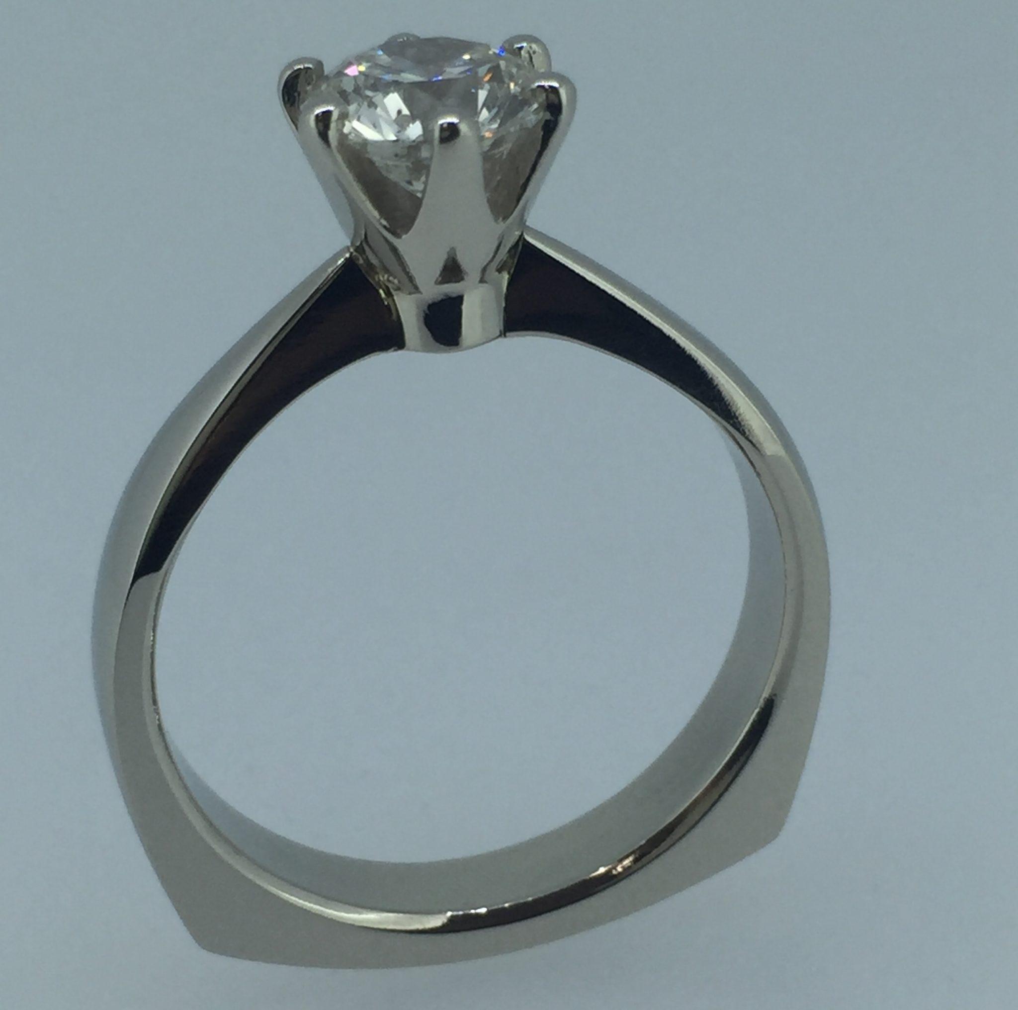 Sužadėtuvių žiedas dizainas 40
