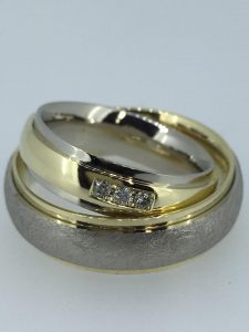 Vestuviniai žiedai dizainas 5