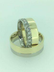 Vestuviniai žiedai dizainas 2