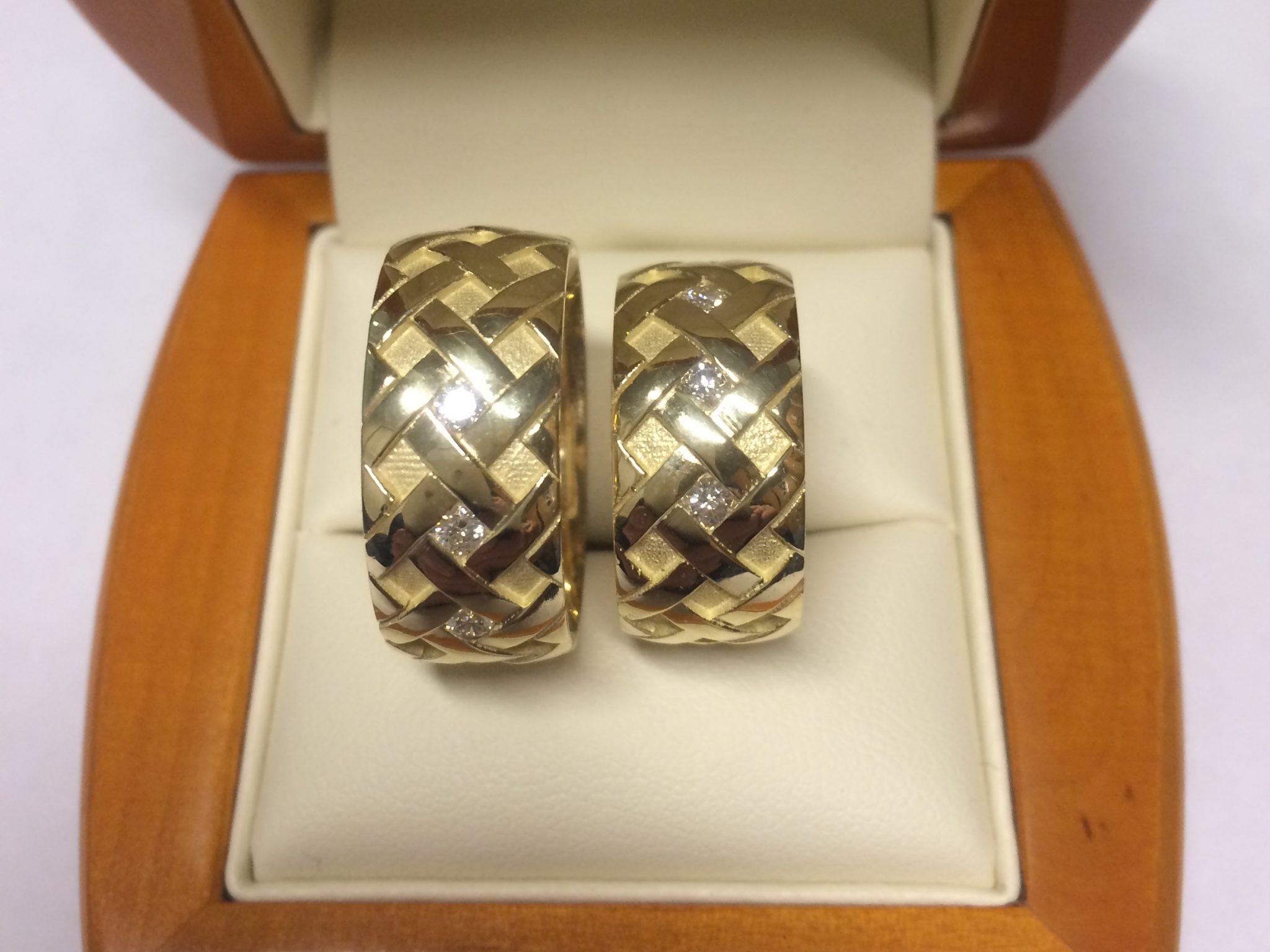 Vestuviniai žiedai dizainas 67