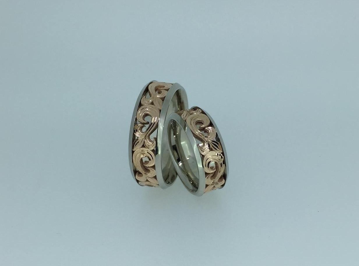 Vestuviniai žiedai dizainas 44