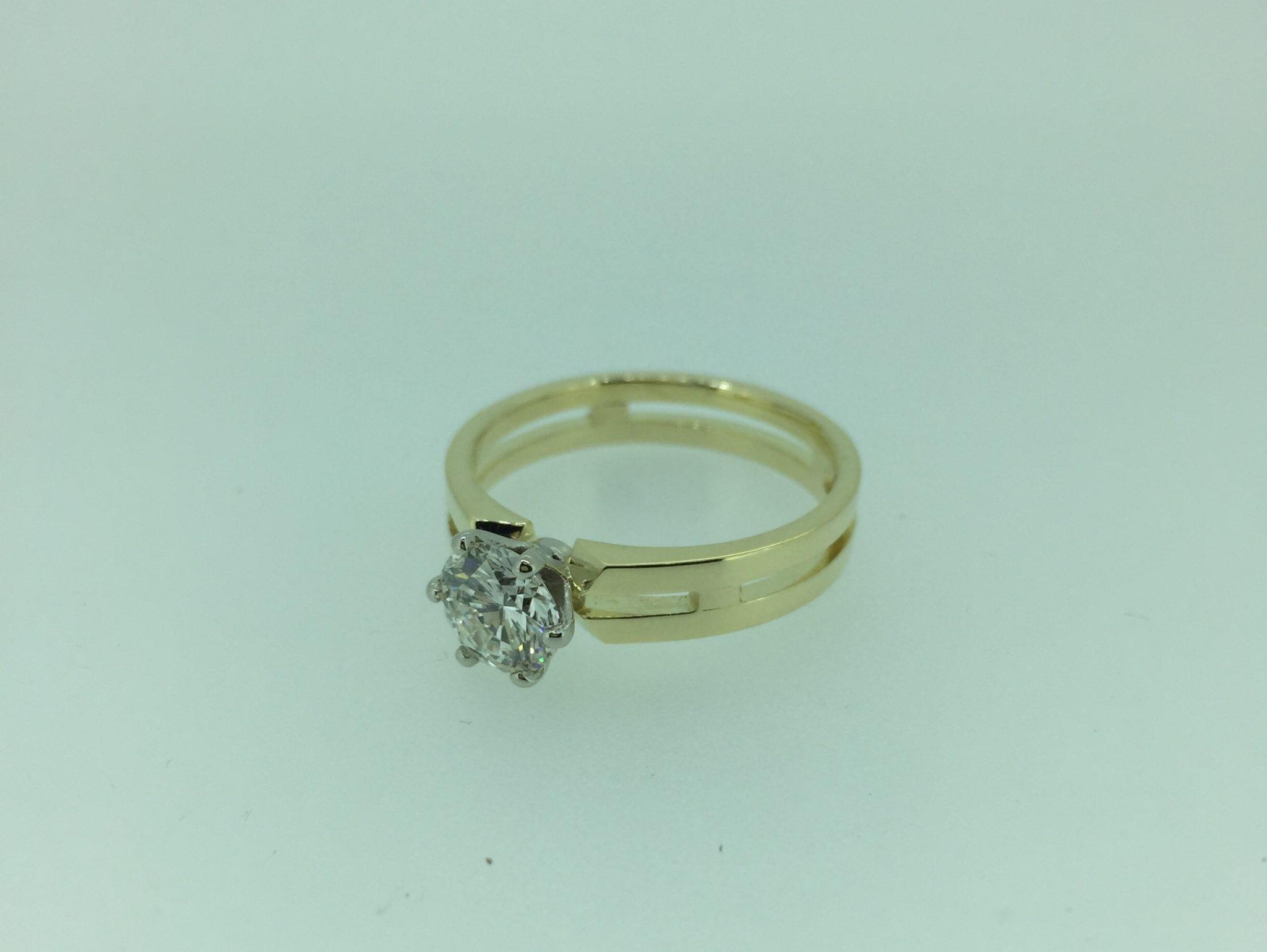 Sužadėtuvių žiedas dizainas 5-3