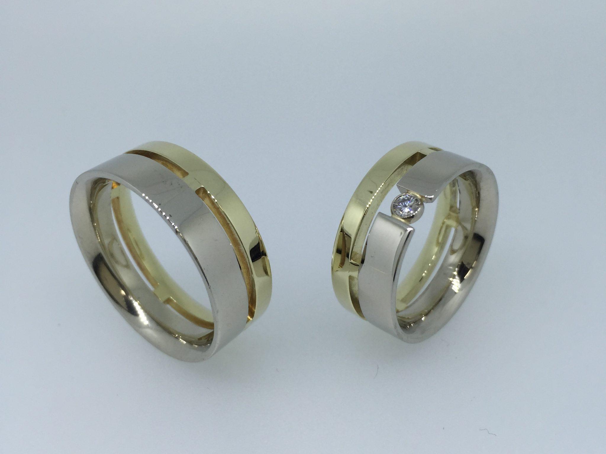 Vestuviniai žiedai dizainas 26